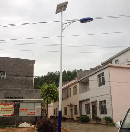Jiangxi Luzhou Solar Street Light Project