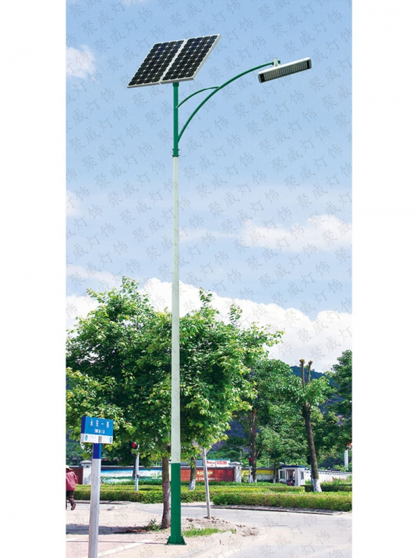 Solar rural street light