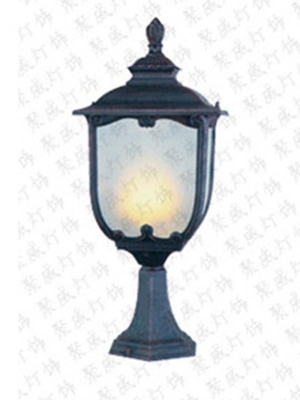 Solar column headlight