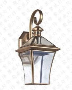 Pure copper wall lamp