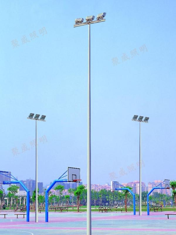 High pole street light